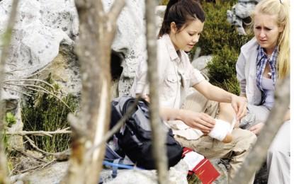 ¿Qué hacer si nos lesionamos en la montaña?