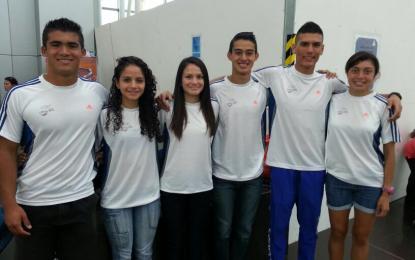 Atletas ticos buscando la marca para clasificar a los Juegos Olímpicos de la Juventud