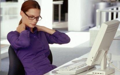 Control postural para evitar problemas de espalda