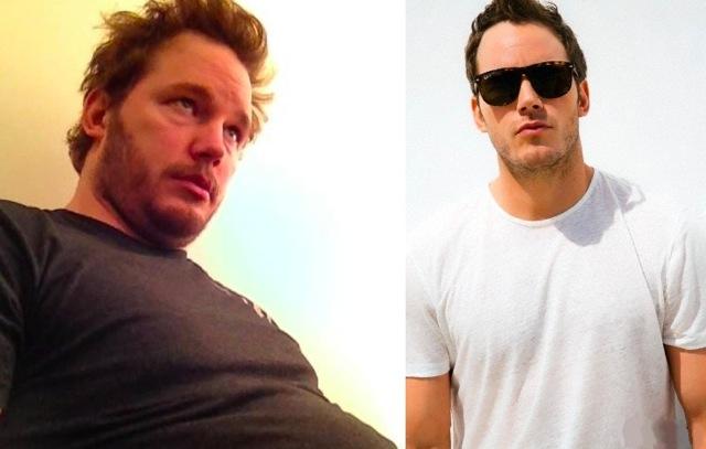 De la obesidad al fitness: el caso de Chris Pratt