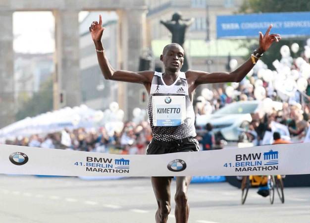 El keniano Dennis Kimetto ganó la Maratón de Berlín y rompe récord mundial