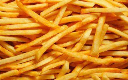 Comer papas fritas podría matarte