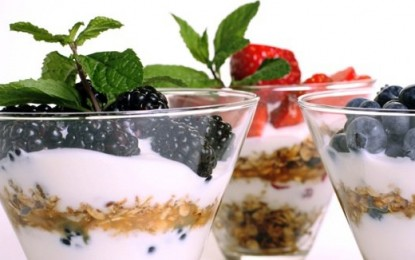 3 beneficios de incluir yogur griego a su dieta