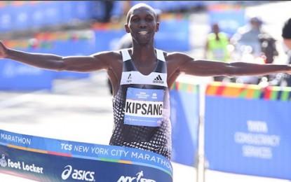 El keniano Wilson Kipsang gana la Maratón de Nueva York 2014