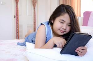 Leer en tablet no es recomendable.