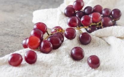 Comer uvas es bueno para la salud