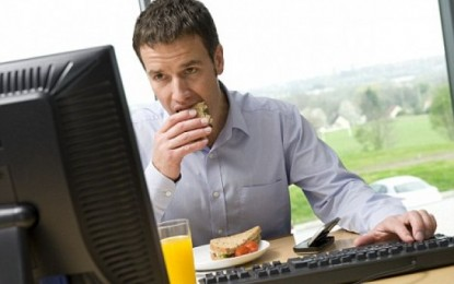 Lo que debe comer el ejecutivo saludable