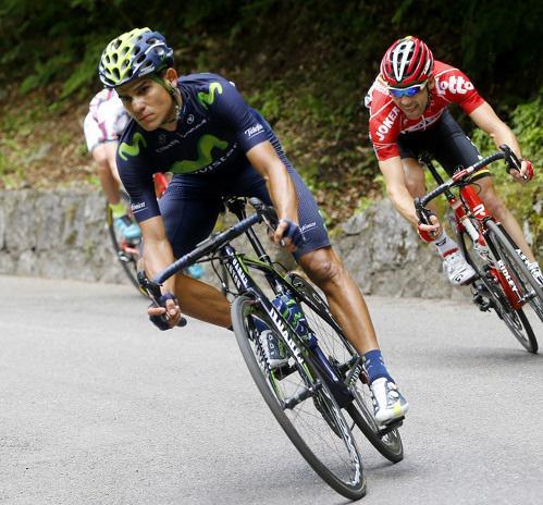 Costarricense Andrey Amador sigue arriba y roza el liderato del Giro de Italia 2016