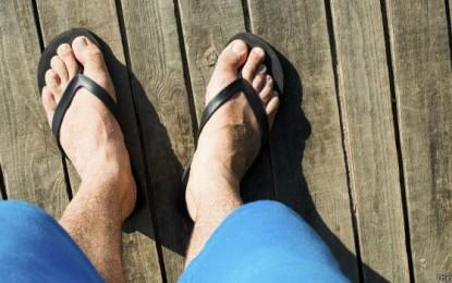 ¿Por qué andar en chancletas daña su salud?