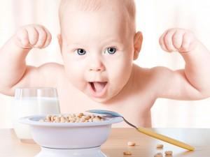 Bebé comida.