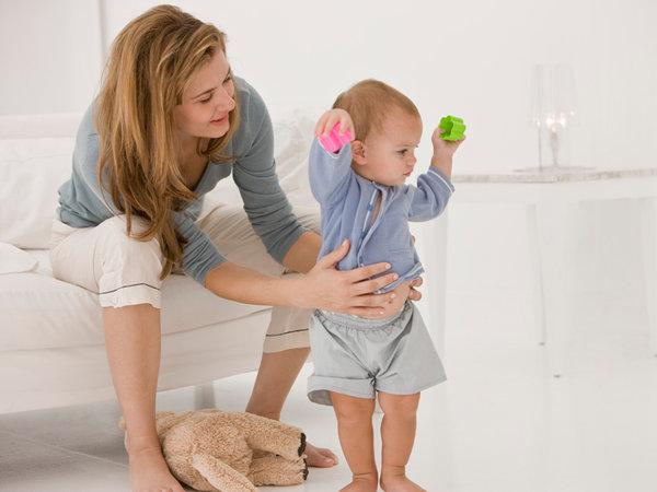 ¿Cuándo  debe comenzar a caminar el bebé?