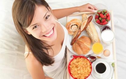 Lo que debes desayunar para tener energía