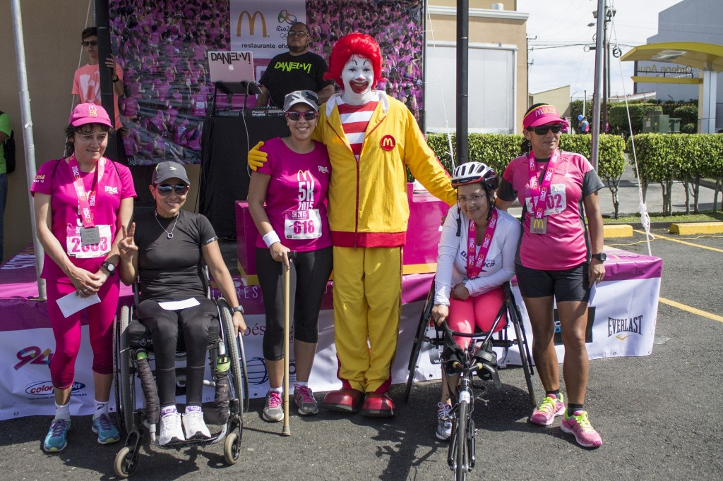 Gandoras Categoría Especial McDonald's 5K - Las Mujeres Corremos