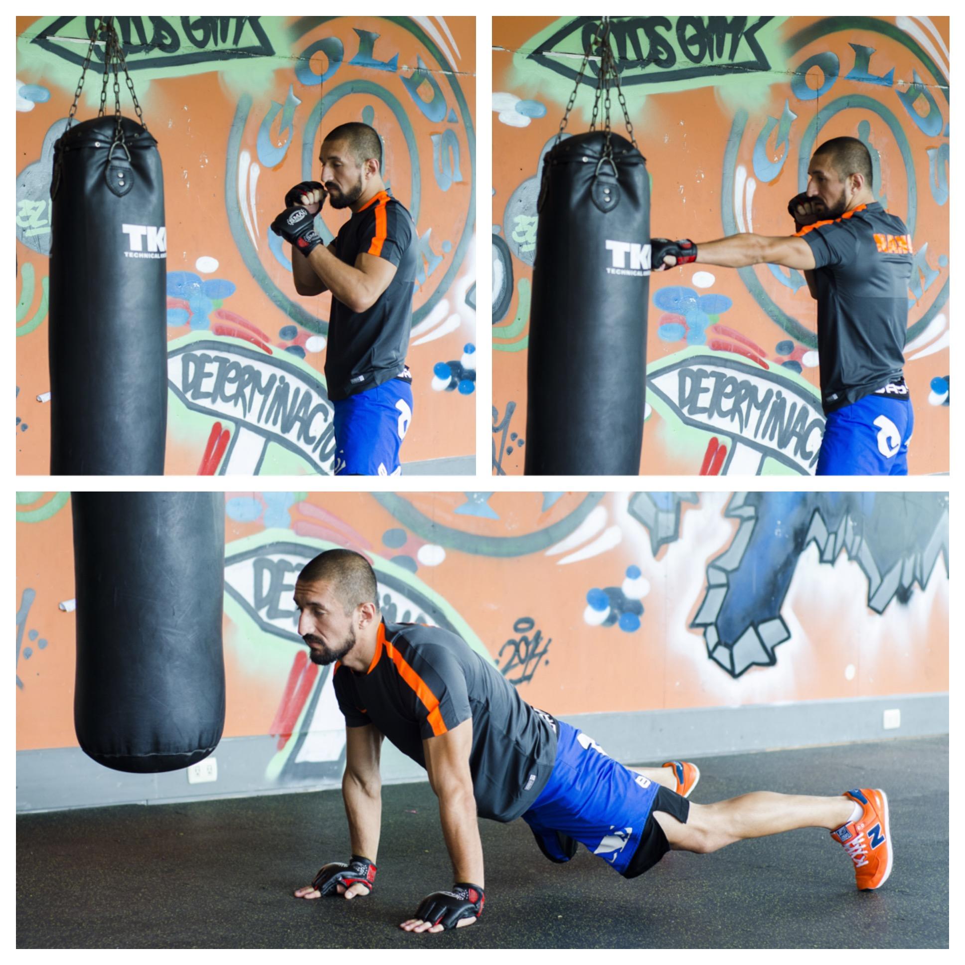 Rutina: gane resistencia con MMA