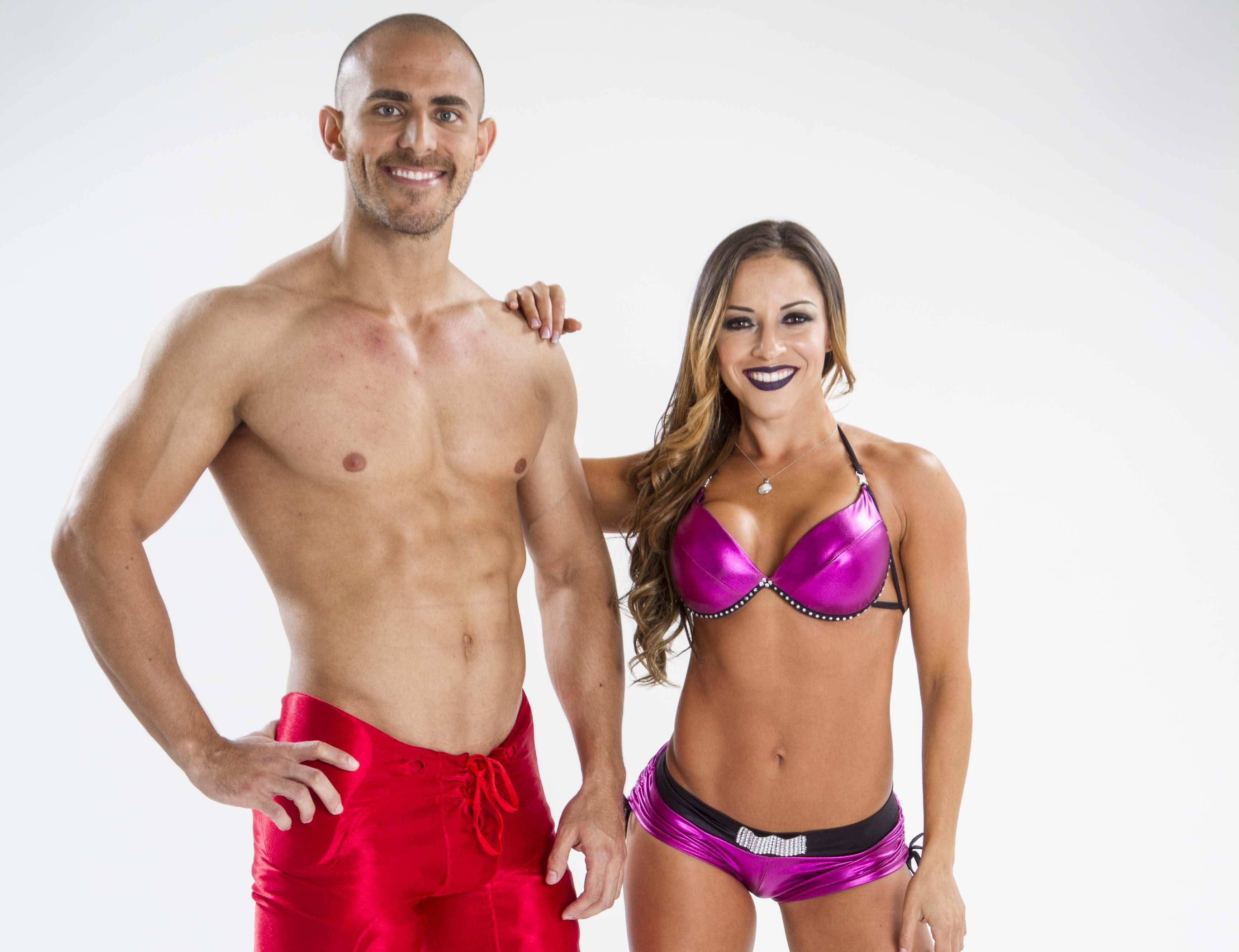 Alejandra y Kenneth: Belleza detrás del ejercicio