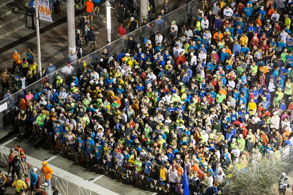 Maratón de Miami: 25.000 personas corriendo por una meta