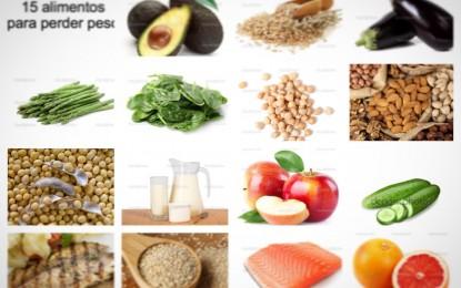 15 alimentos para perder peso