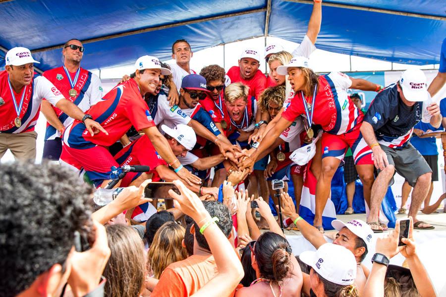 Costa Rica recibirá el Mundial de Surf «ISA World Surfing Game por segunda vez