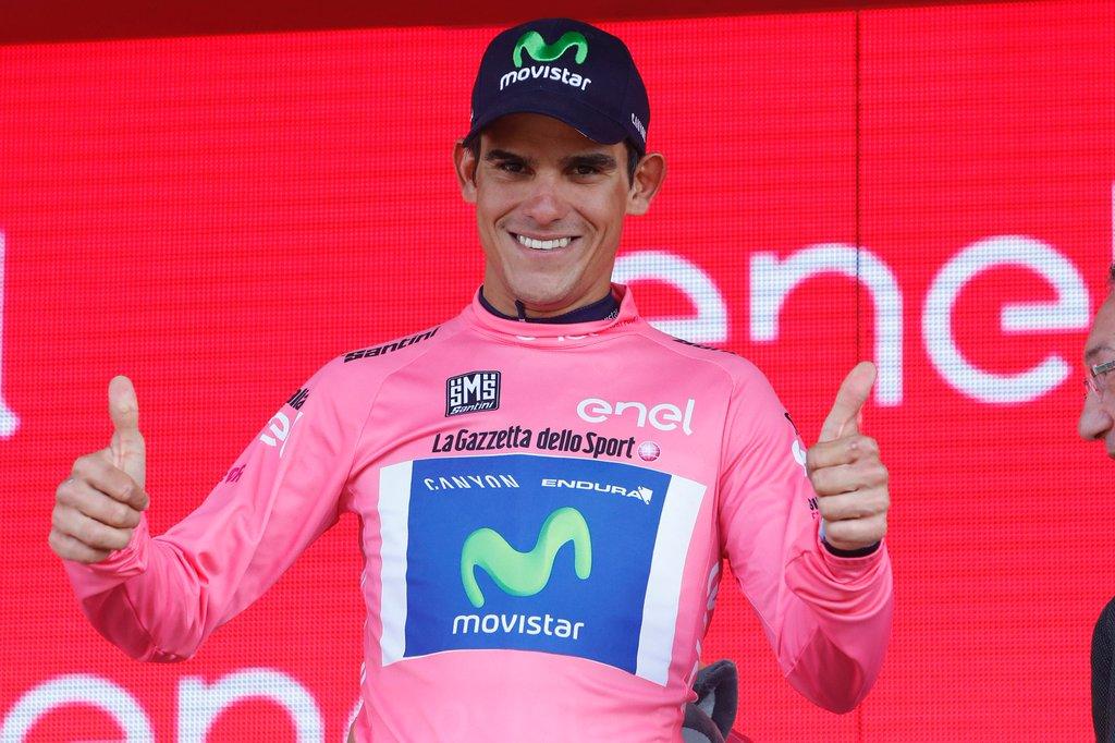 Tico Rosa: Andrey Amador es líder del Giro de Italia