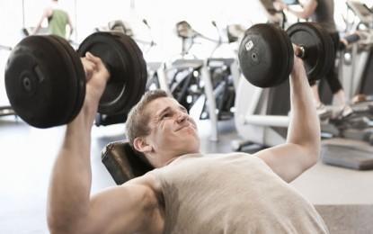 ¿Cuál es el peso ideal que debes levantar en el gimnasio para mantenerte en forma?