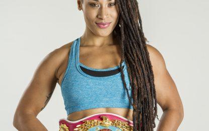 Hanna Gabriel, indiscutible campeona superwelter