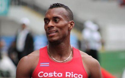Atleta costarricense Nery Brenes supera el mejor tiempo de su vida en España