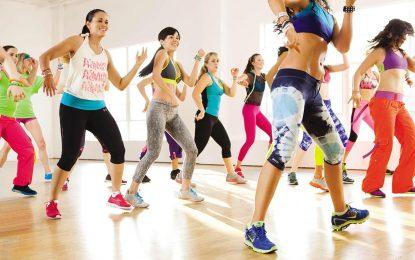 Prepárese para hacer ejercicio al ritmo de zumba