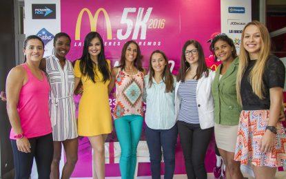 Corredoras dirán sí a un estilo de vida saludable en la 6ta edición de McDonald's 5K