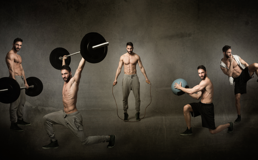 A trabajar los músculos