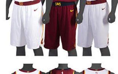 Cavaliers presentan sus nuevos uniformes de Nike para la temporada 2017-18