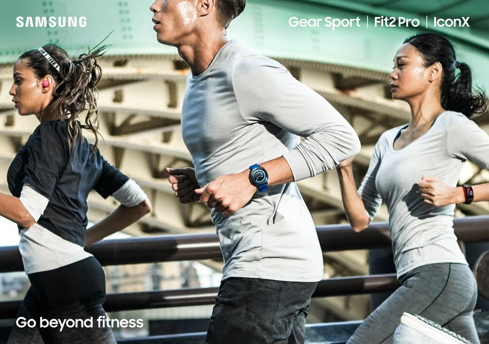 Samsung lanza nuevos wearables especializados para deportistas