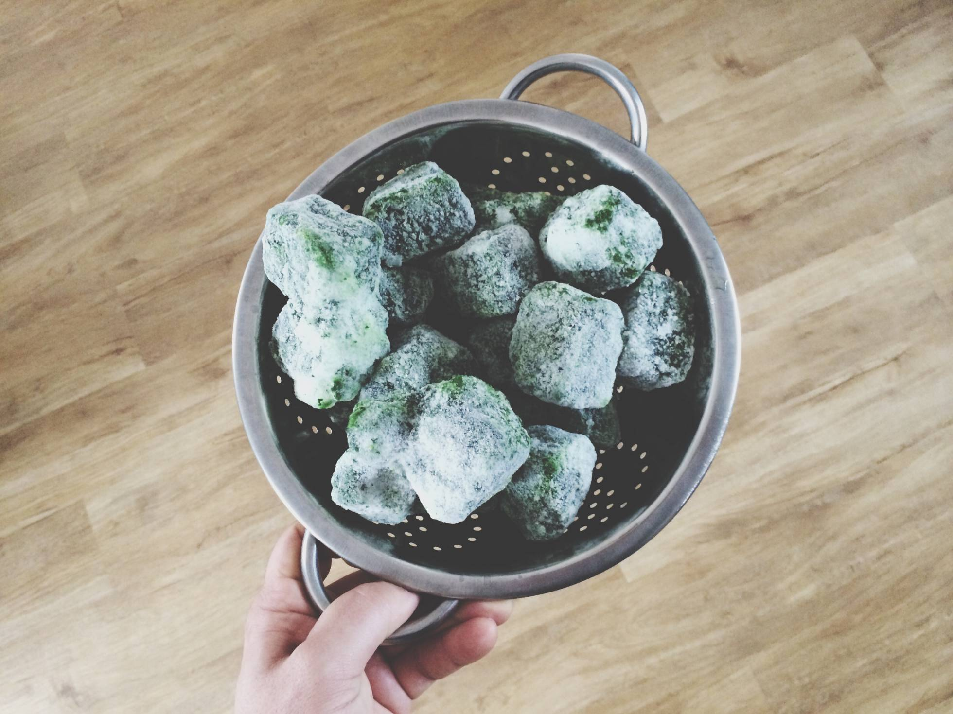 Las verduras congeladas no son sanas, son sanísimas