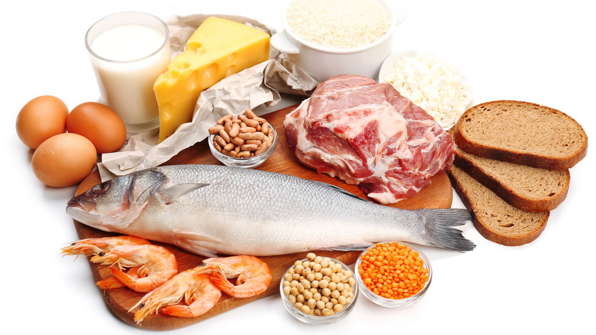 Alimentos ricos en proteínas para ganar masa muscular