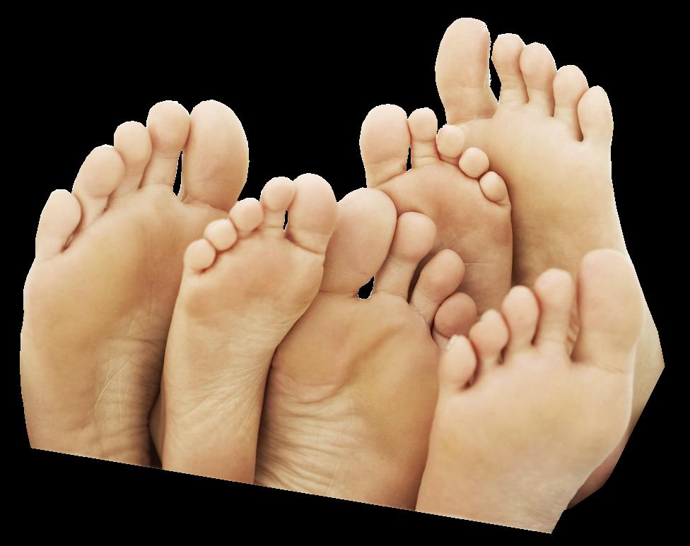 Este es el primer paso en el cuidado de tus pies