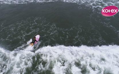 Costarricense saca cara en Sele de Surf Adaptado