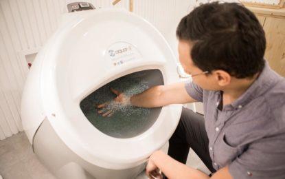 Aquaroll revoluciona el mundo de los masajes para los deportistas