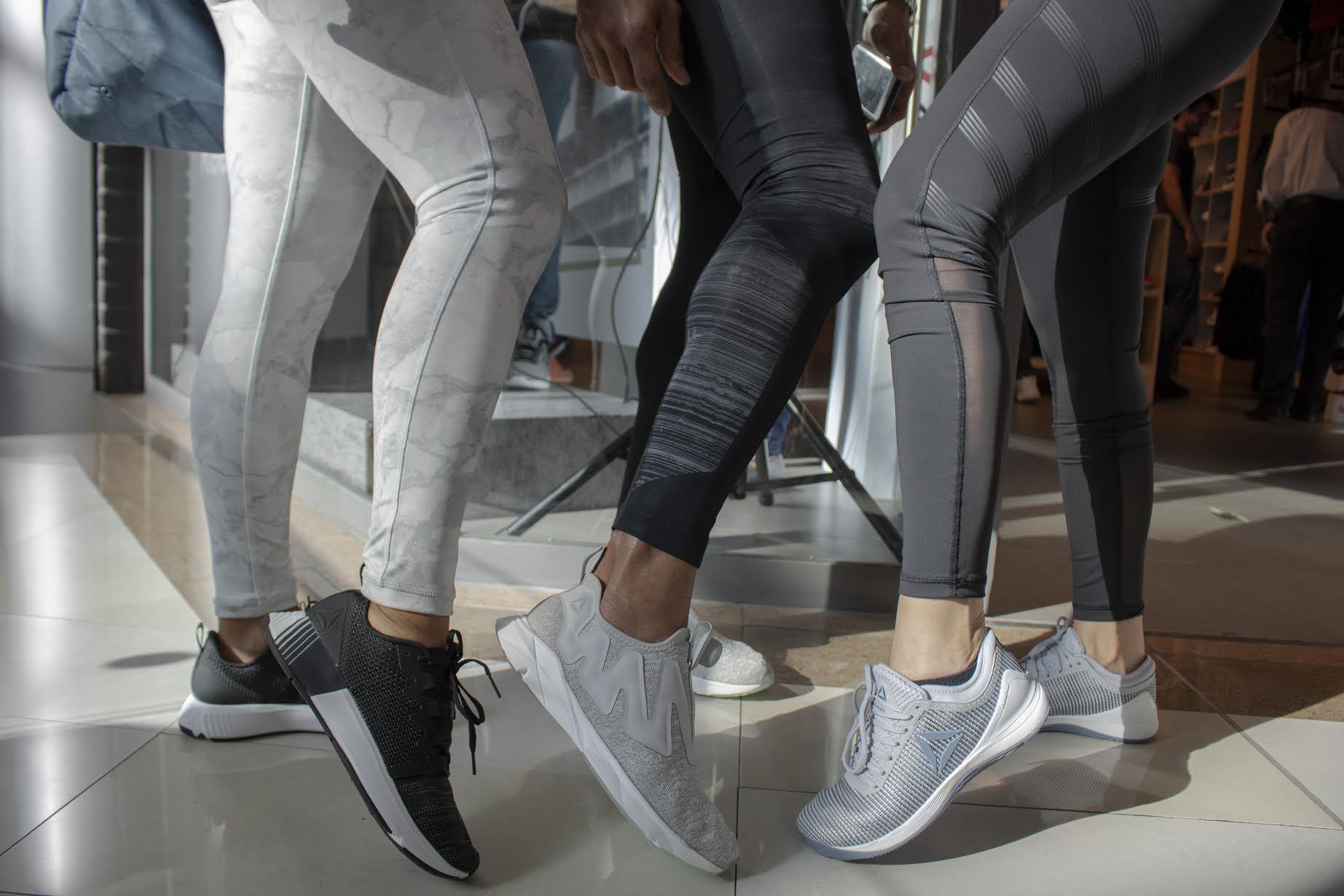 Reebok presentó su nueva colección de ropa  deportiva y Classic