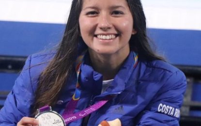¡Camila Haase se trae la medalla de Plata a Costa Rica!