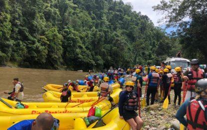 Histórica navegación en el cierre de la Cumbre Mundial de Rafting envía mensaje a favor de la conservación de los ríos