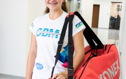 Nicole Alfaro primera costarricense en clasificar al ranking mundial de Tenis