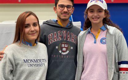 Tres atletas de Lincoln School jugarán en ligas estadounidenses de Primera División