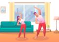 6 ejercicios fáciles para hacer en casa