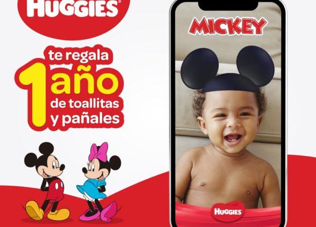 Huggies divertirá a las familias con novedosa app de Disney
