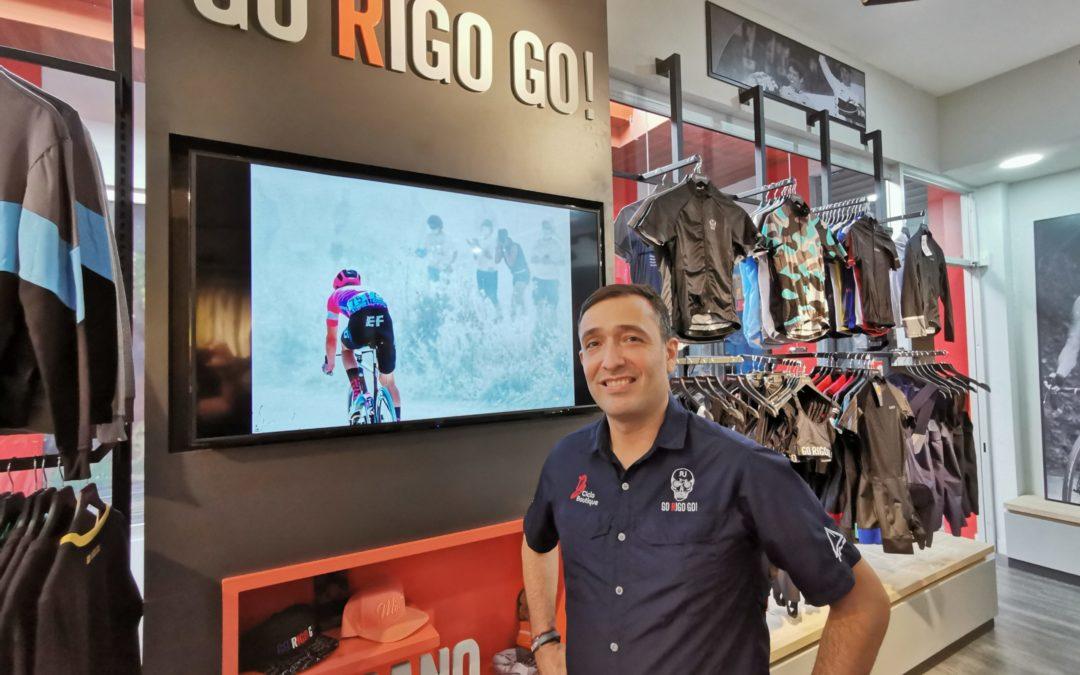 Ciclista internacional Rigoberto Urán elige Costa Rica como primer punto para expandir sus tiendas «Go Rigo Go»