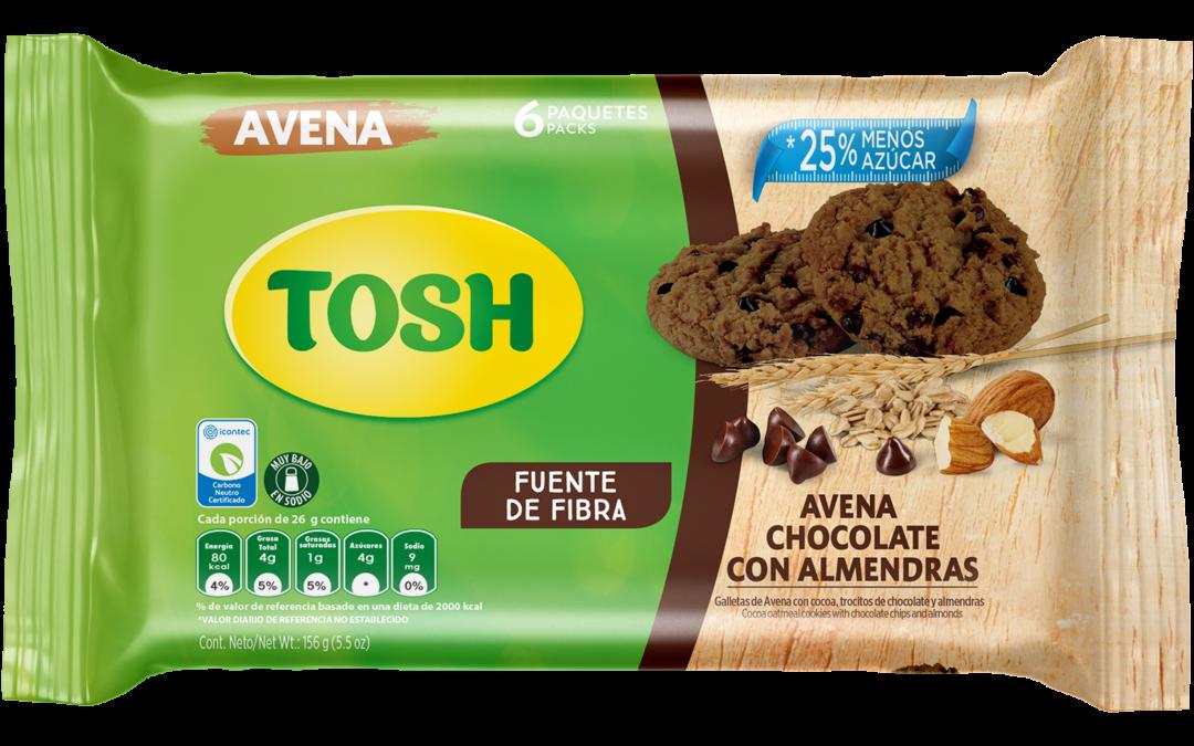 Tosh incorpora la avena dentro de su gama de productos