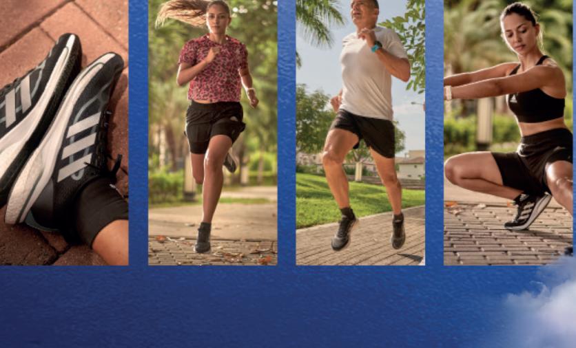 adidas apuesta a los tennis con material reciclado, diseñados para corredores principiantes